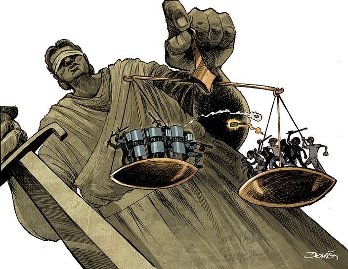 Justicia en crisis por Darío Castillejos