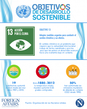 ODS Objetivo 13
