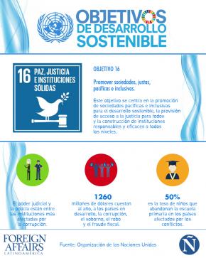 ODS Objetivo 16