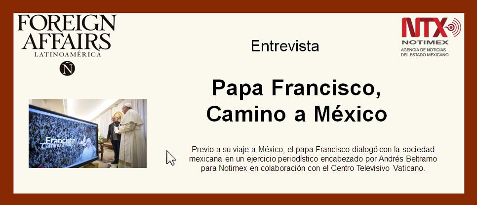 Anuncio Papa